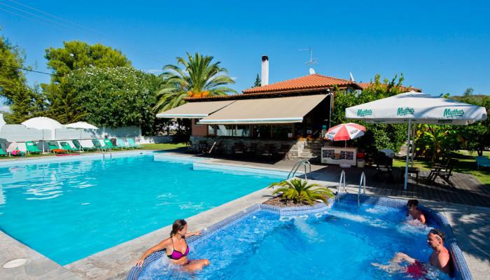 Our pool in Hanioti Village Resort (Hotel)